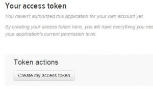 Your access token